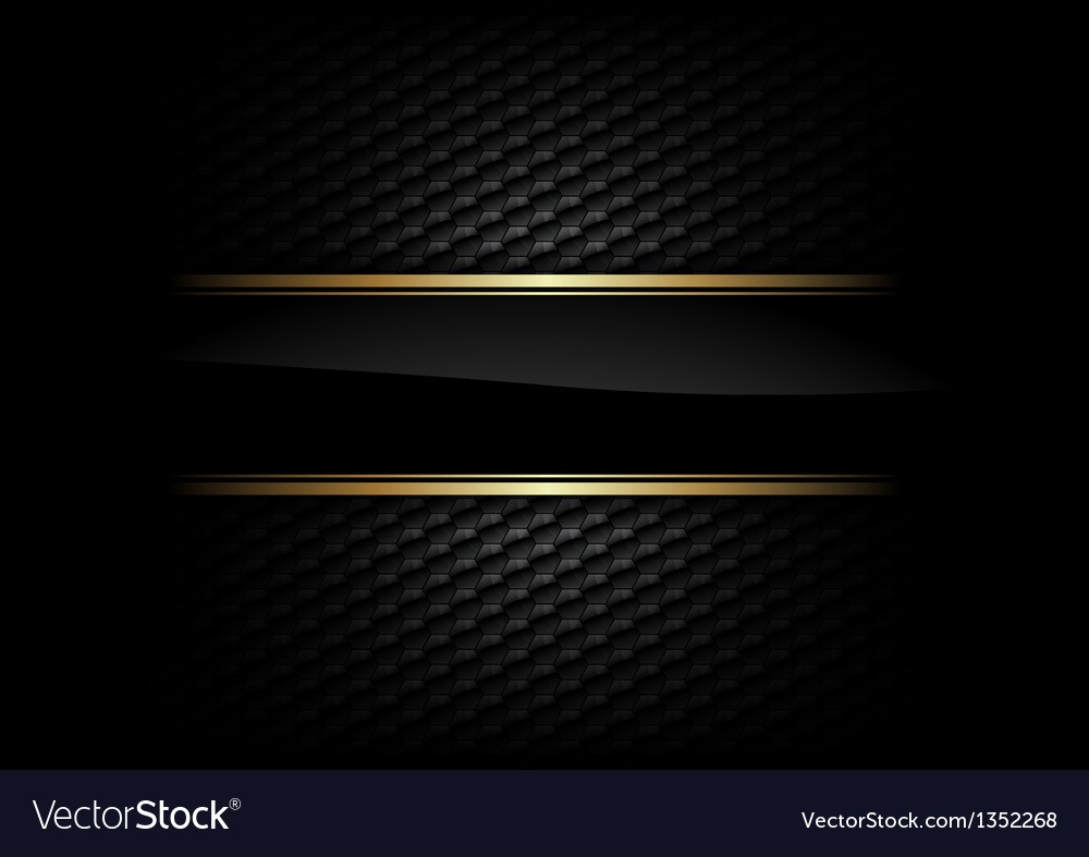 Hexagon background with stripe vector