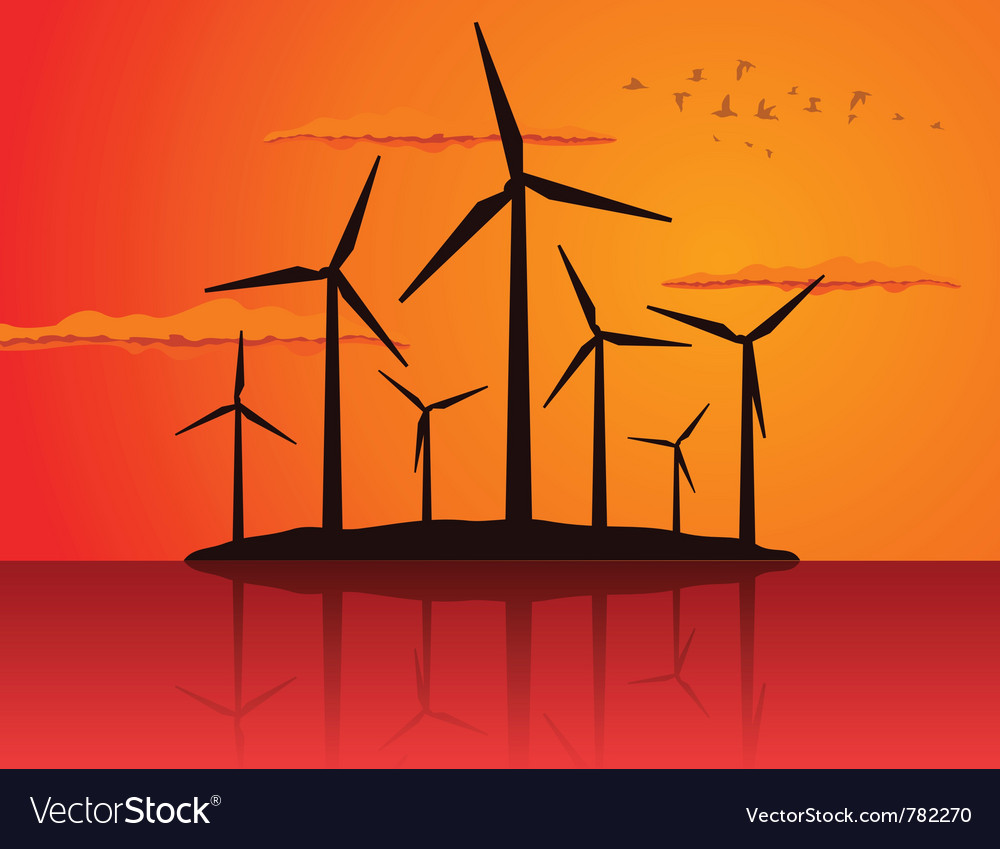 Ecologically wind vector