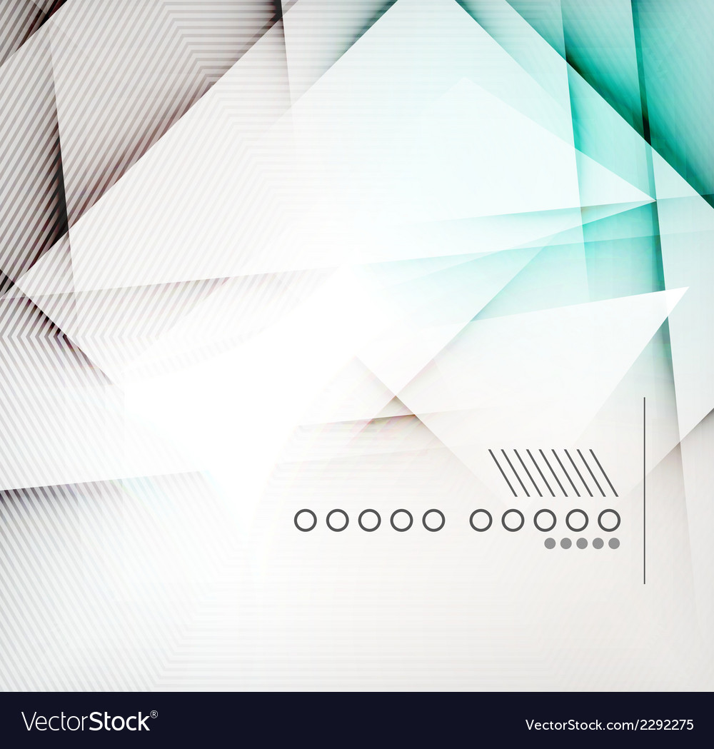 Geometric diamond shape abstract background vector