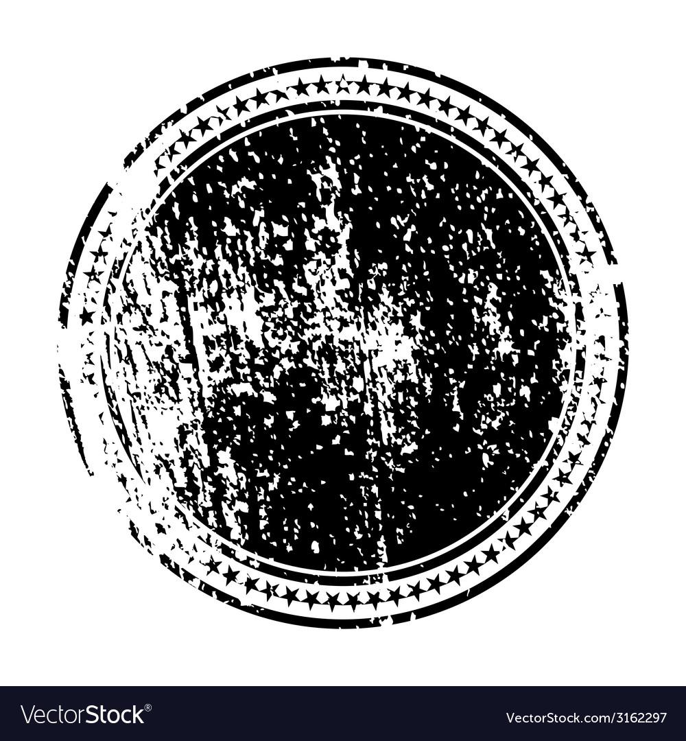 Decorative grunge stamp vector
