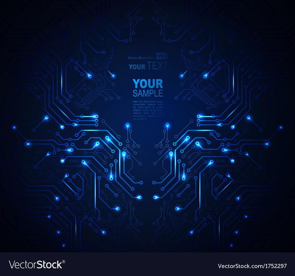 Digital technologies vector
