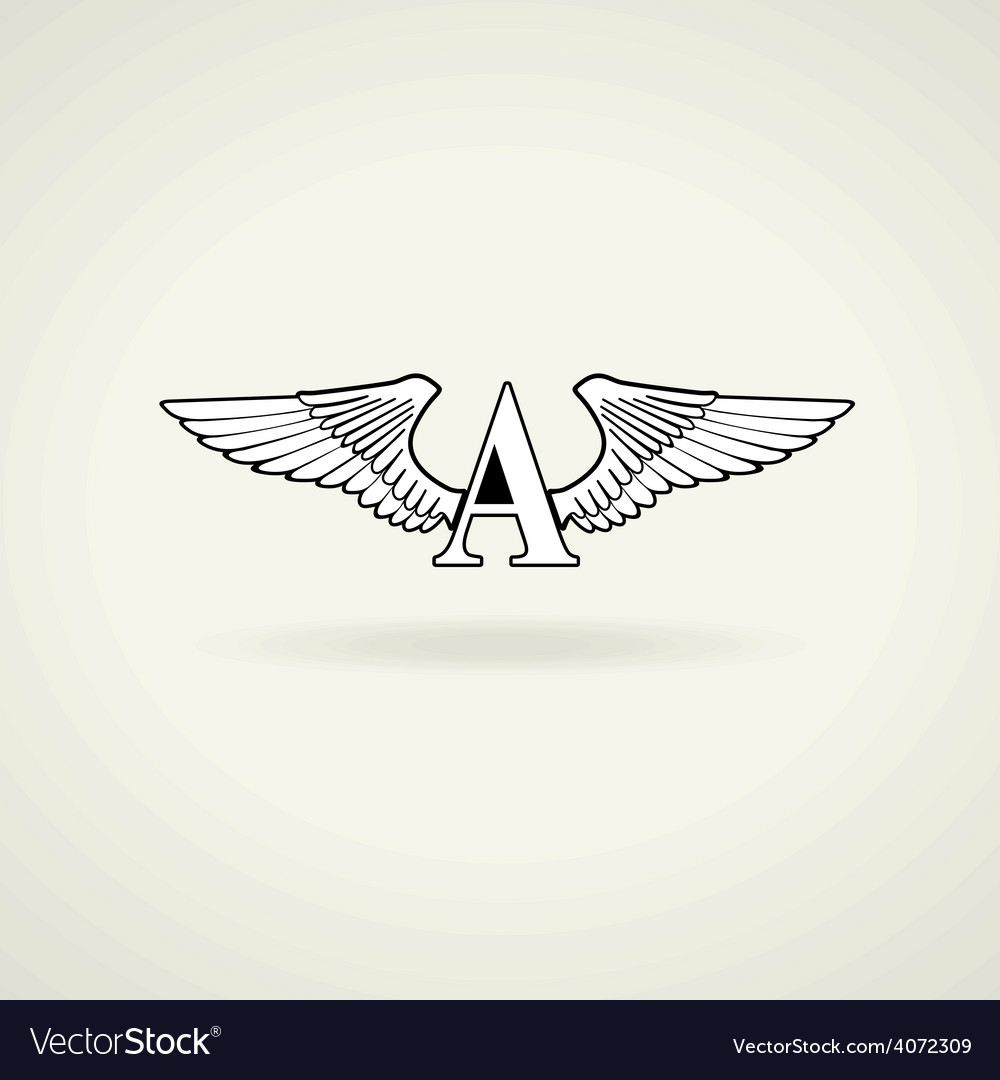 Classic emblem or blank for logo vector