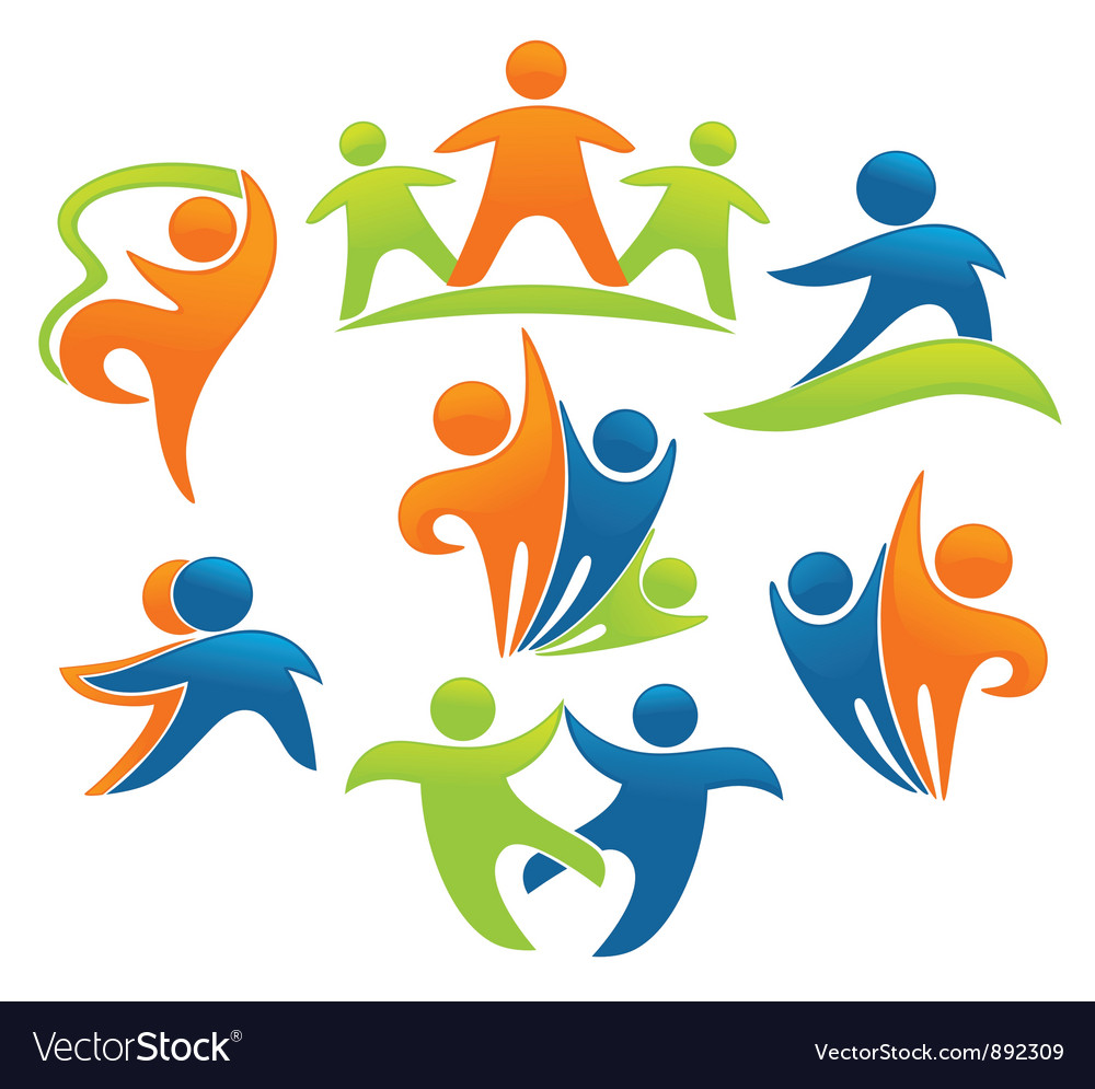 Success leadership and victory vector