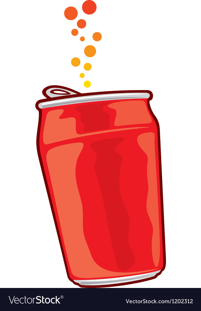 Beverage can vector