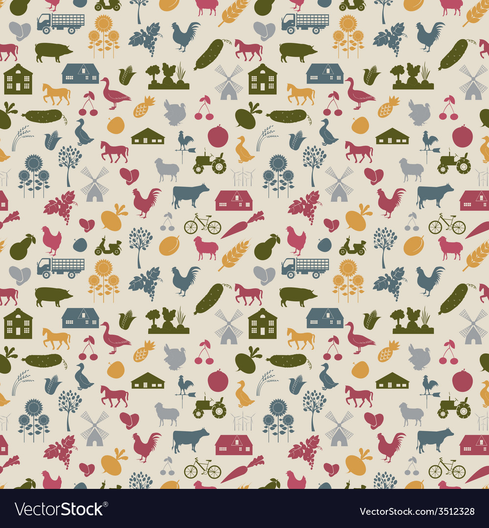 Agriculture background vector