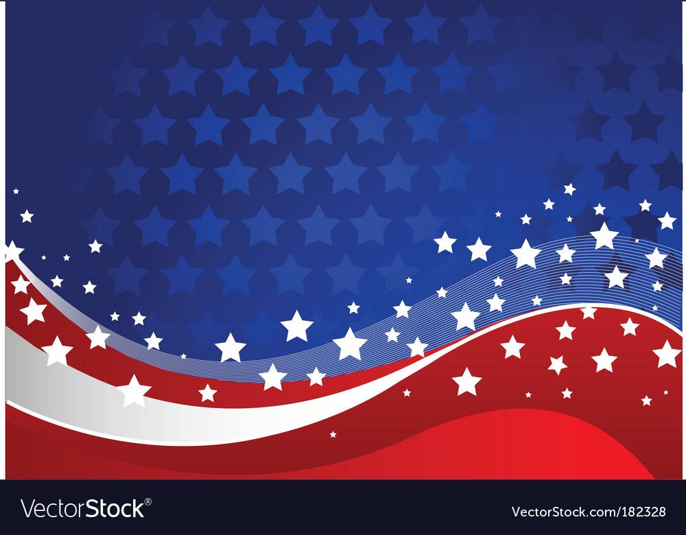 American background vector