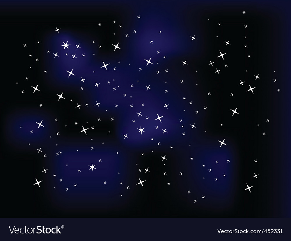 Space astrology vector