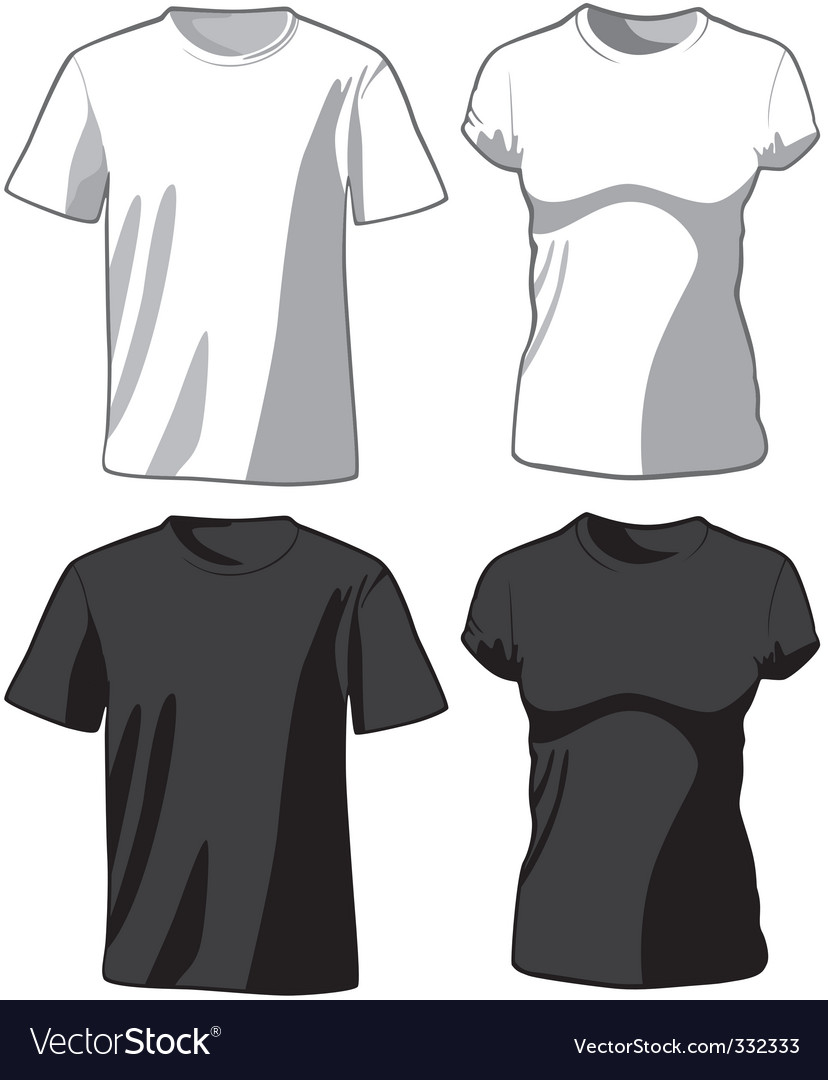 Set of the casual wear vector