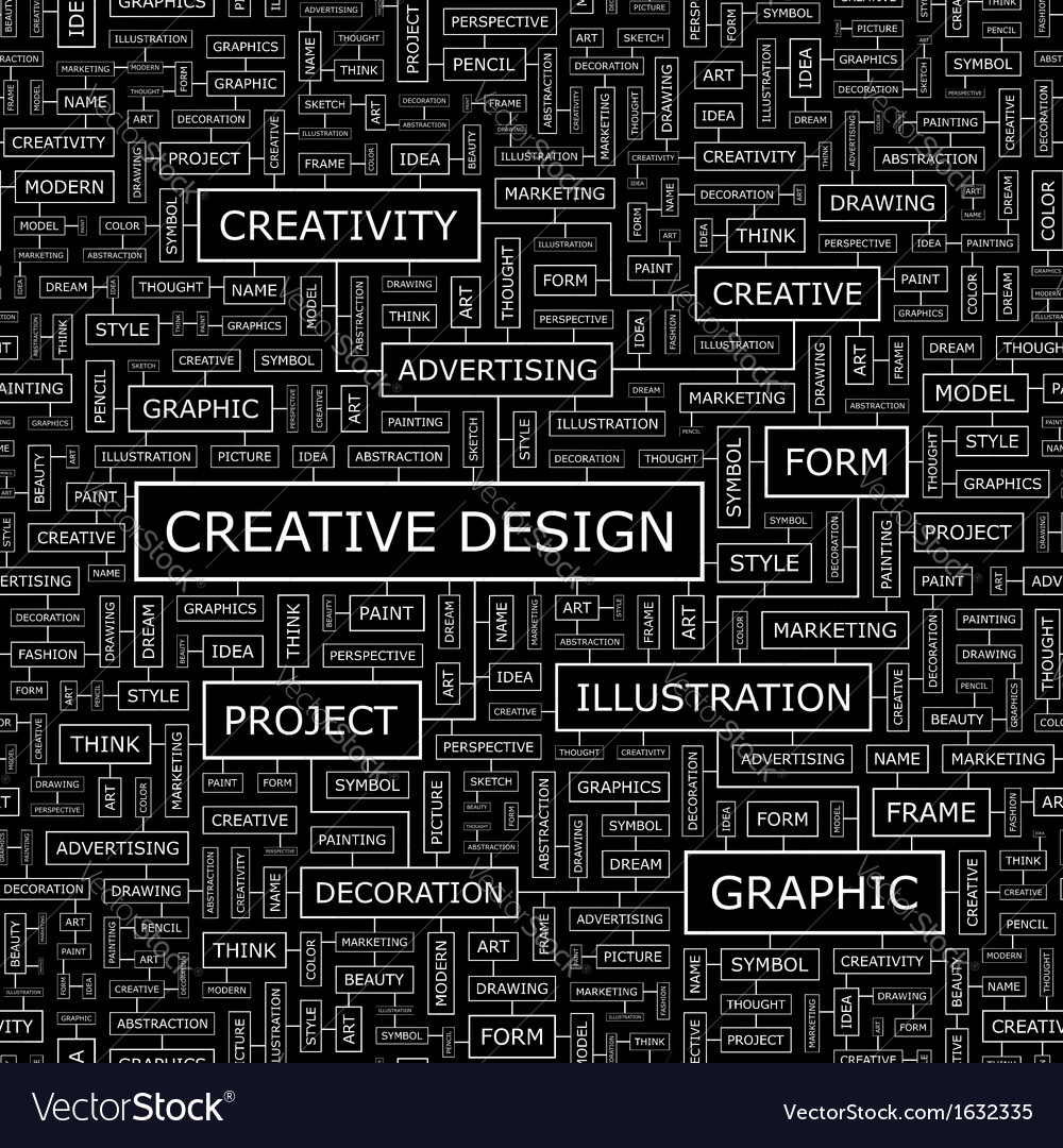 Creative design vector