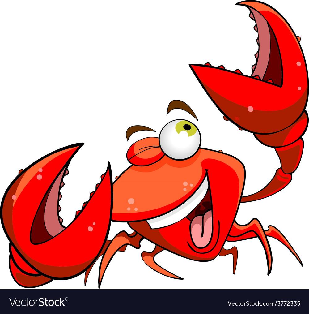 Marine crab vector