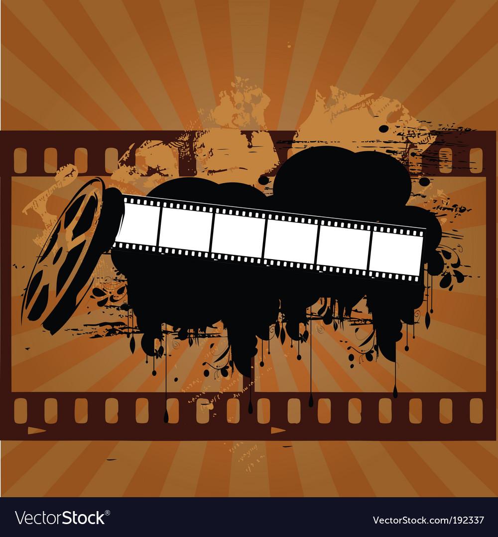 Grunge entertainment vector