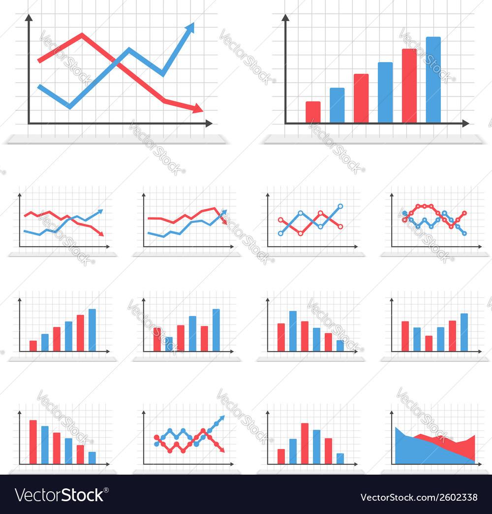 Graphs vector
