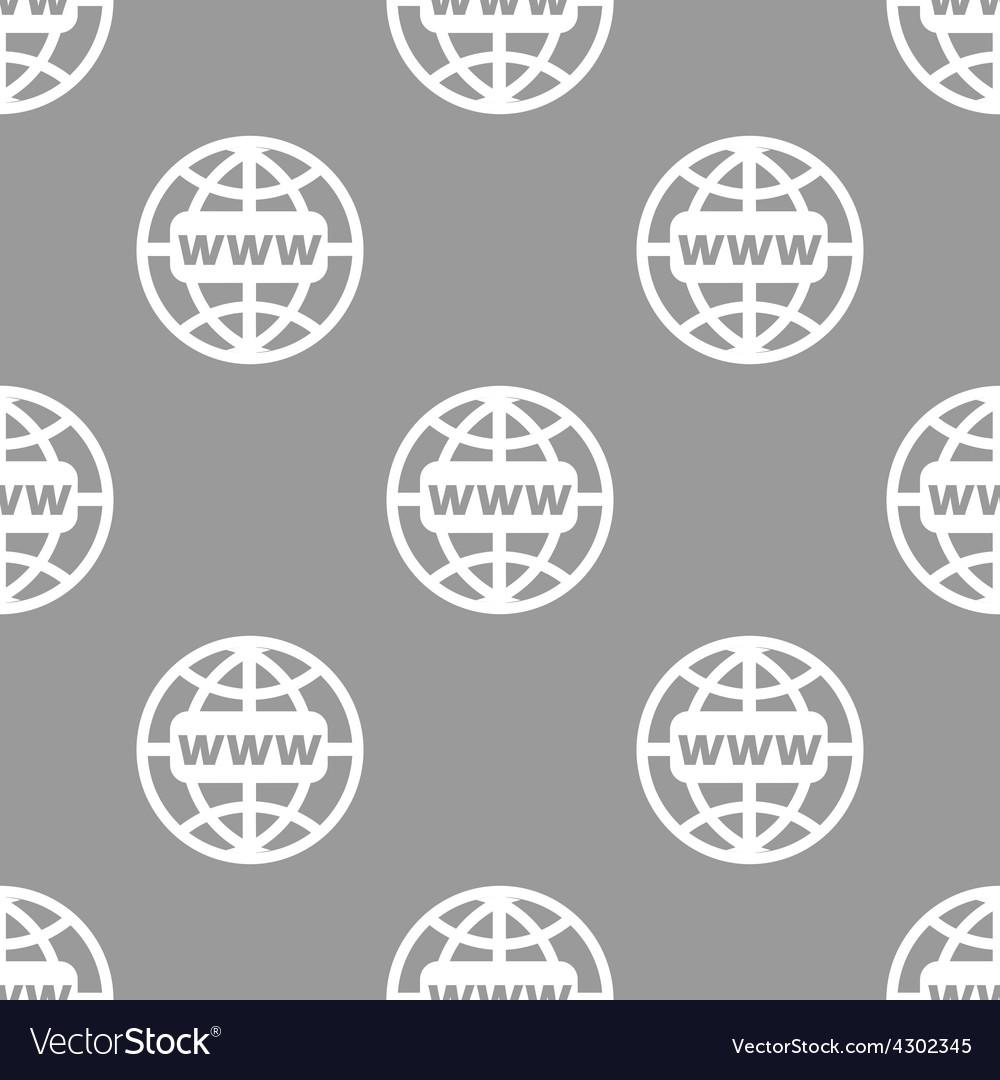 Www seamless pattern vector