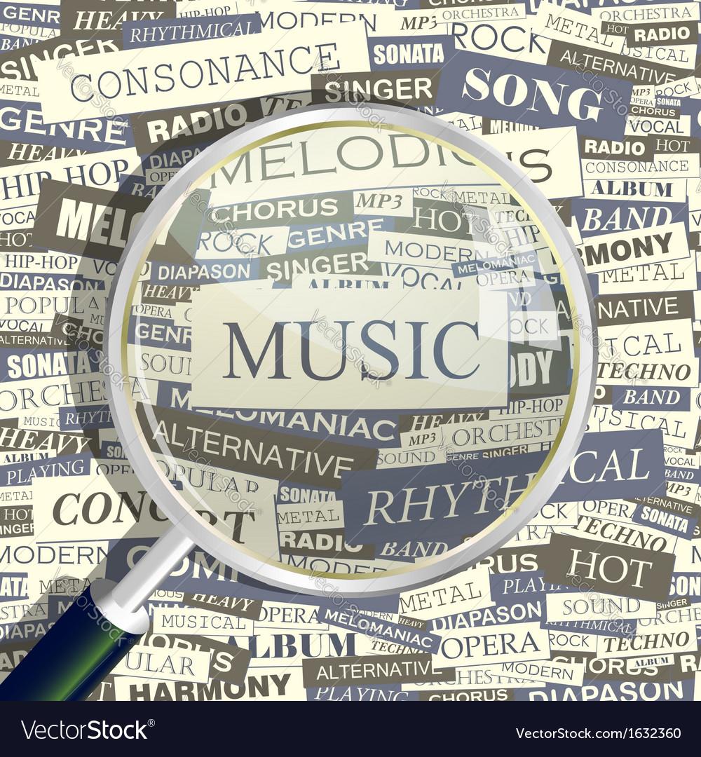 Music vector