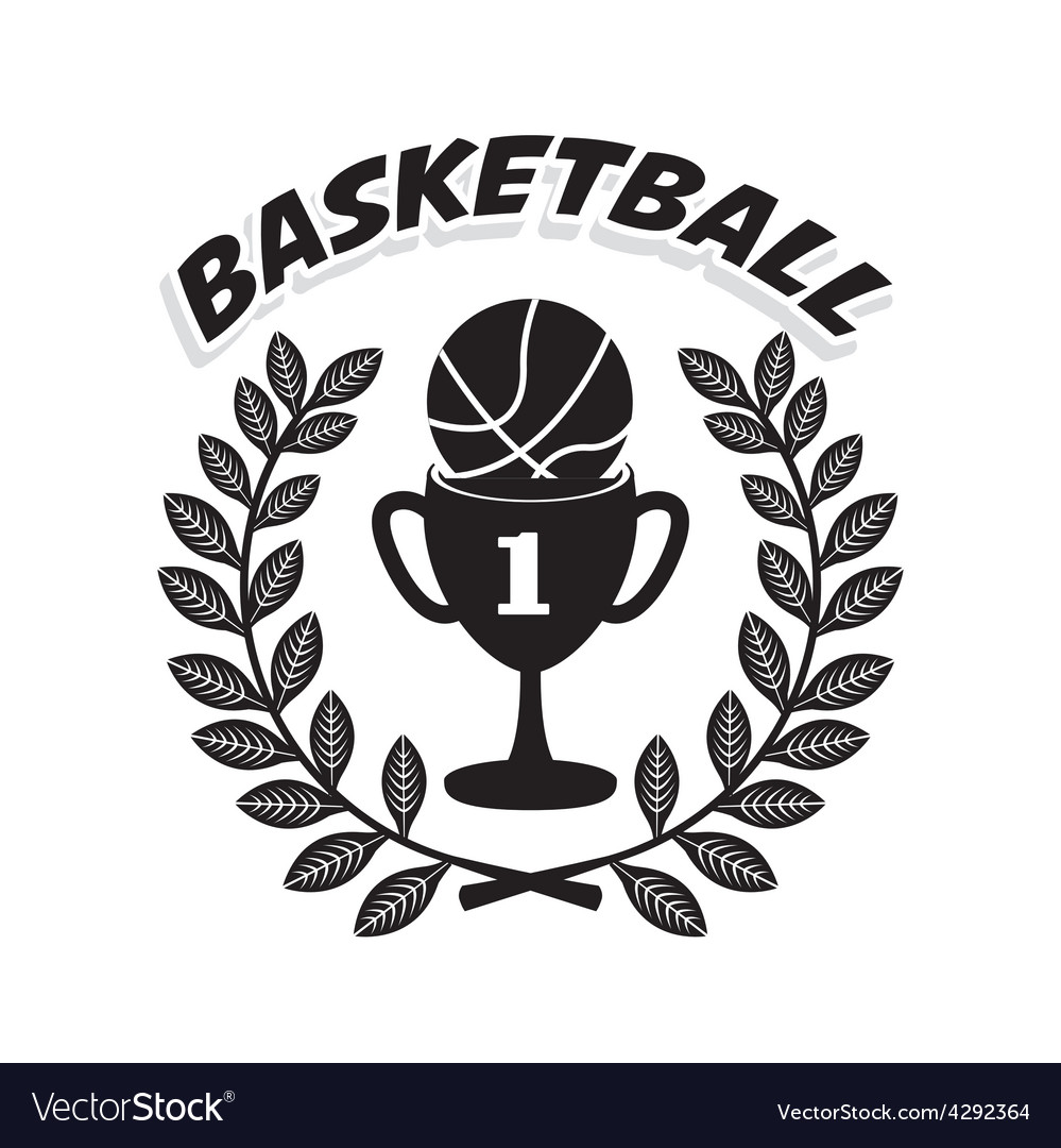 Basketball championship vector