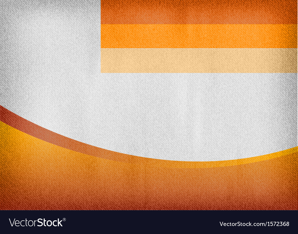 Template orange curve empty vector