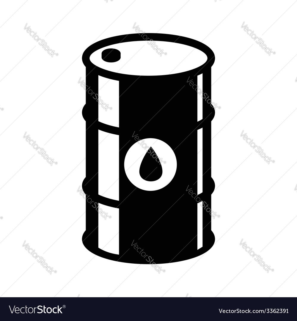 Barrel icon vector