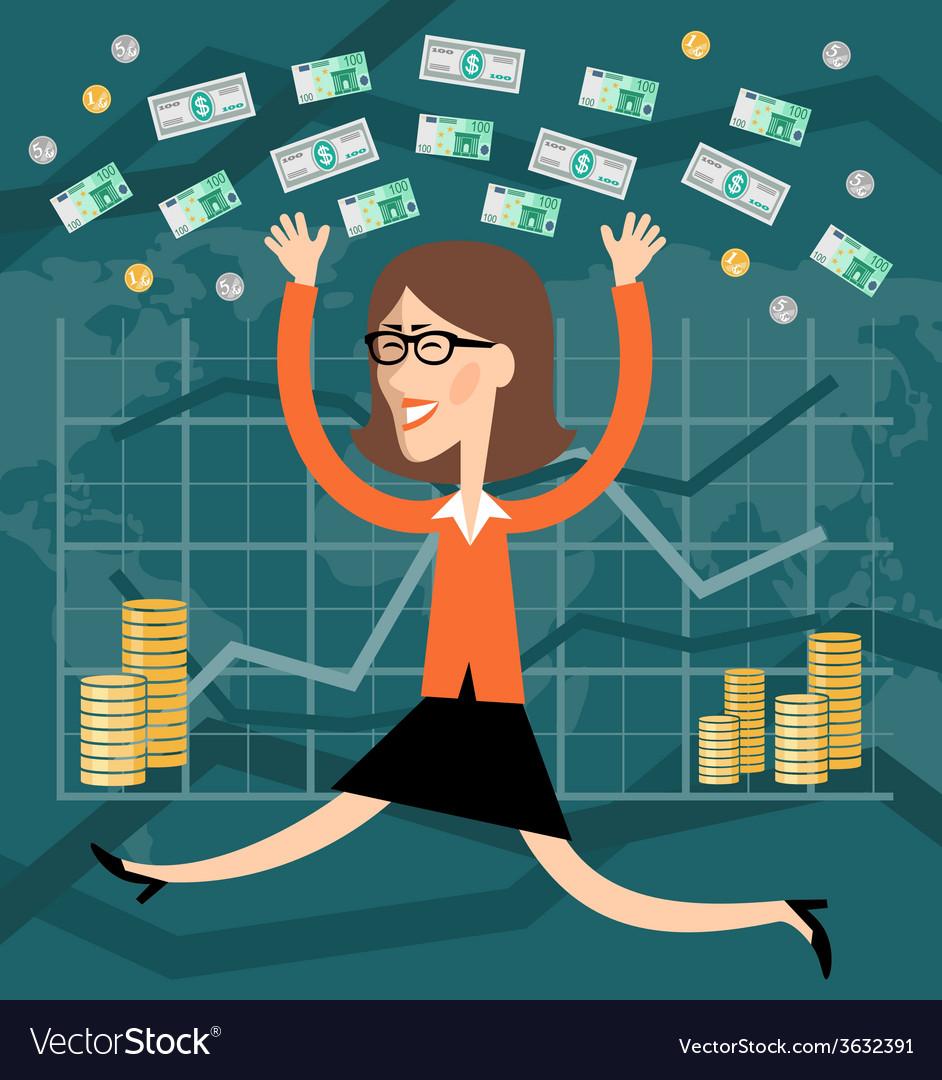 Financial success vector