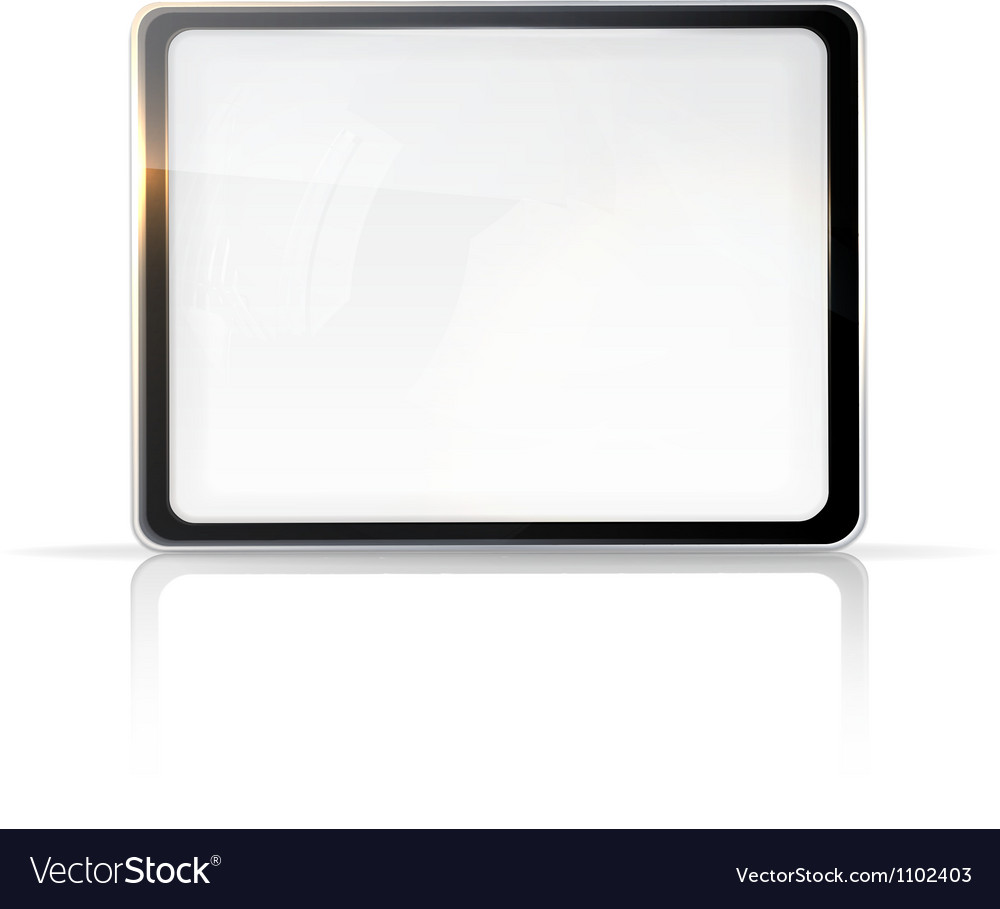 Touch screen vector