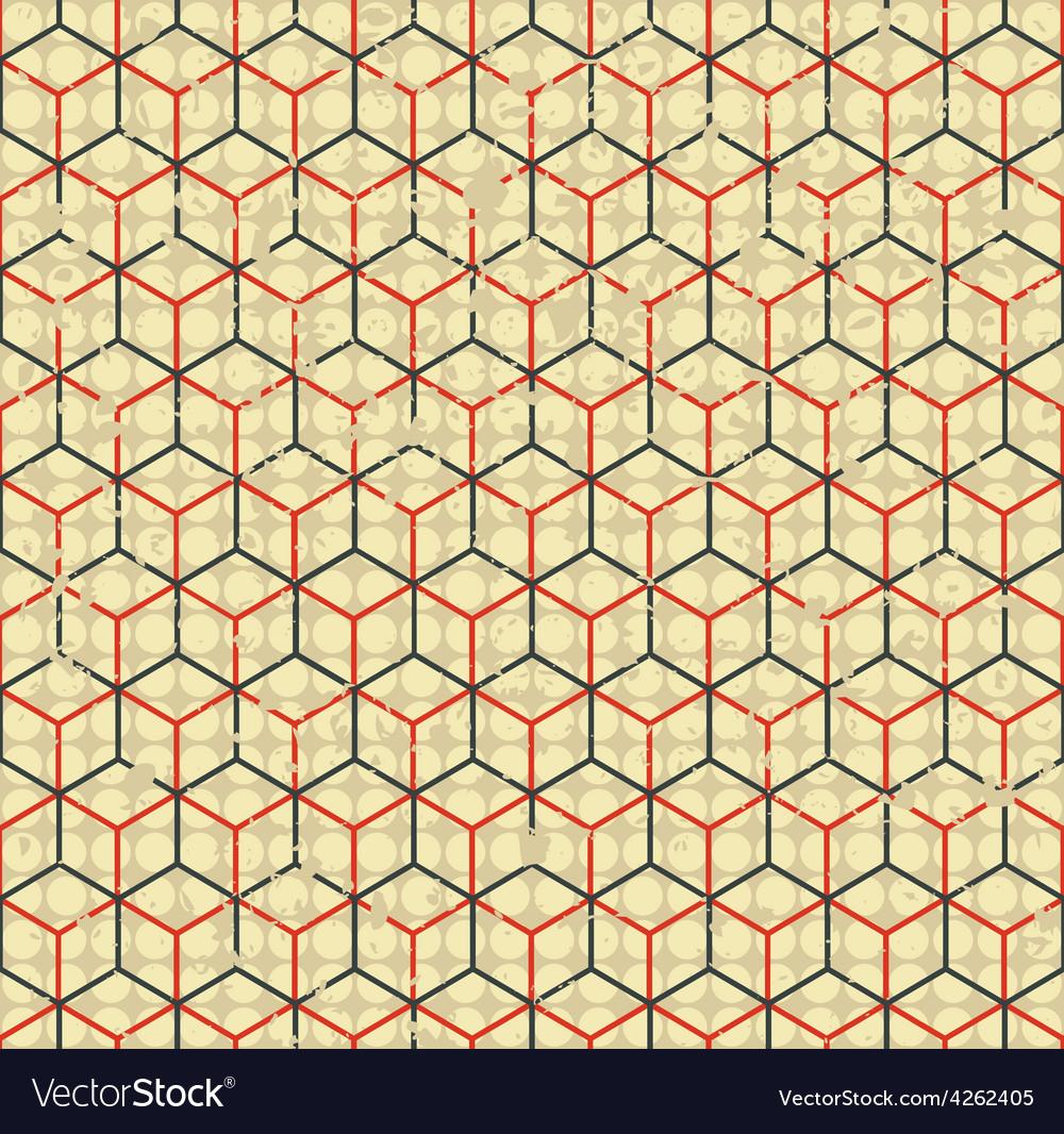 Grunge cell simless vector