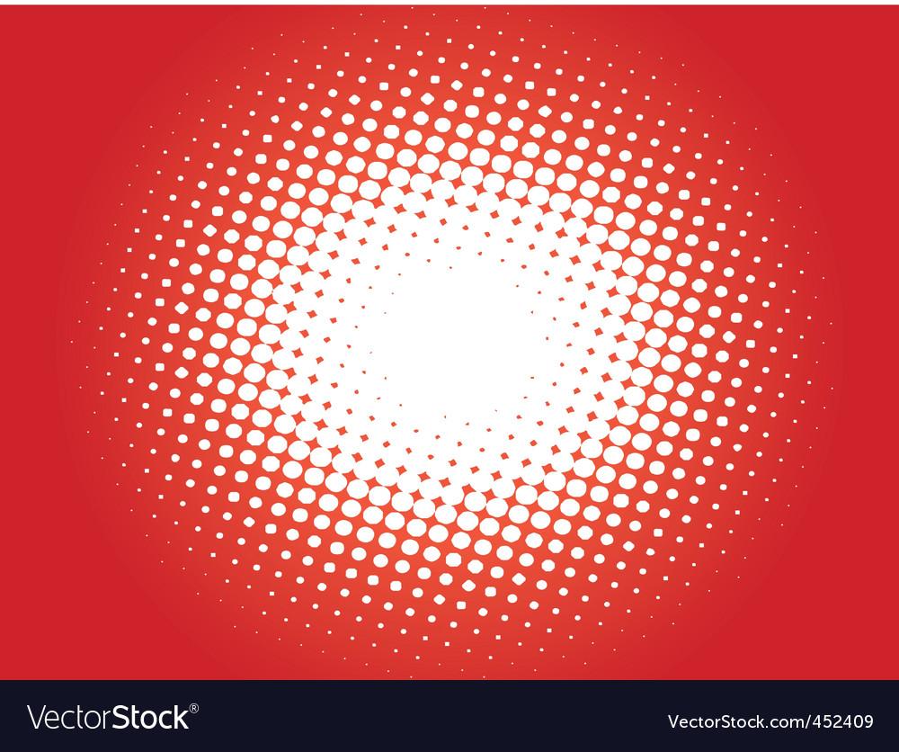 Halftone pattern03 vector