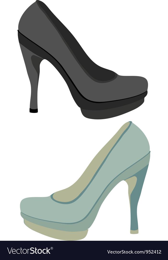 Shoe vector
