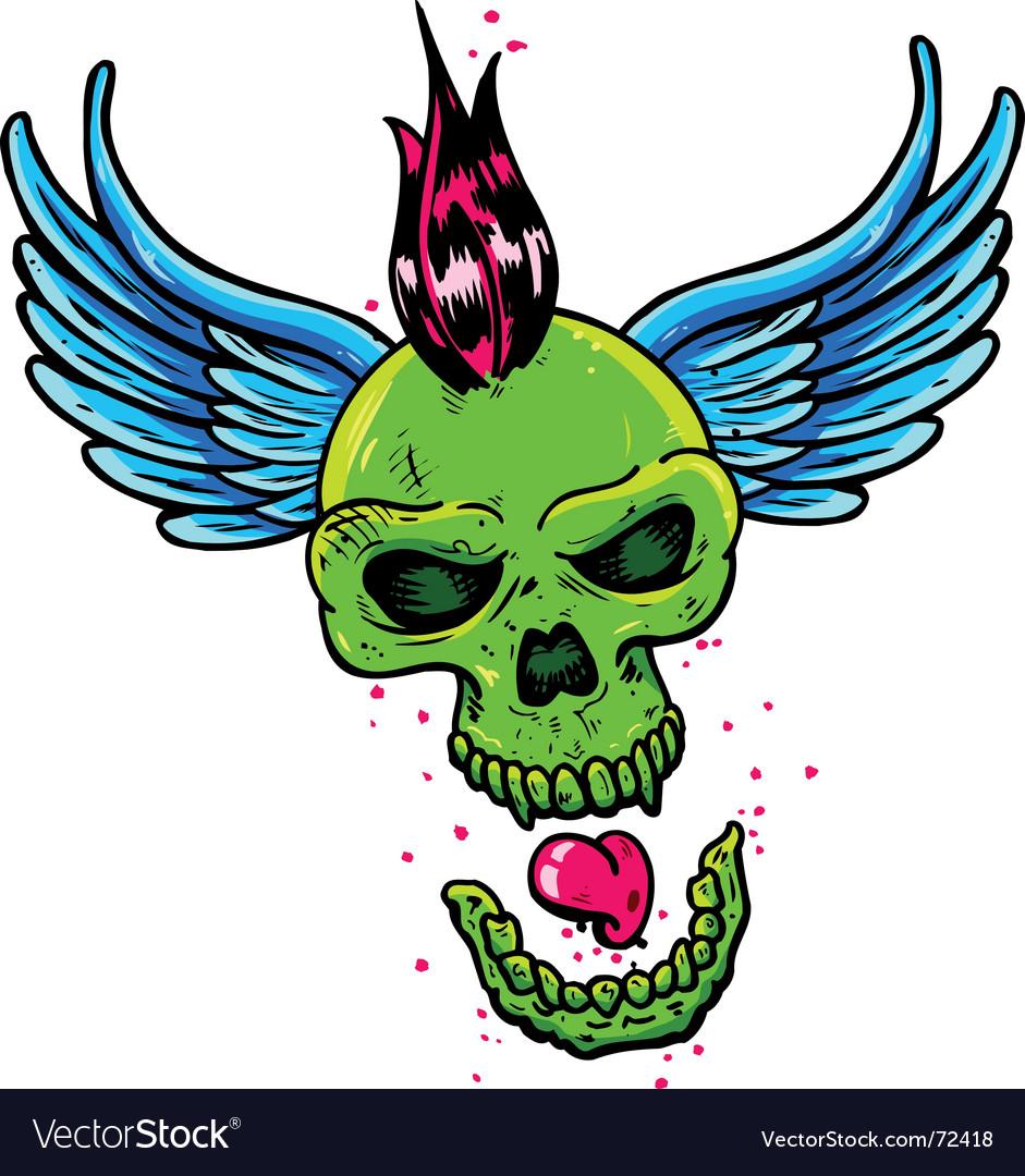 Punk tattoo vector
