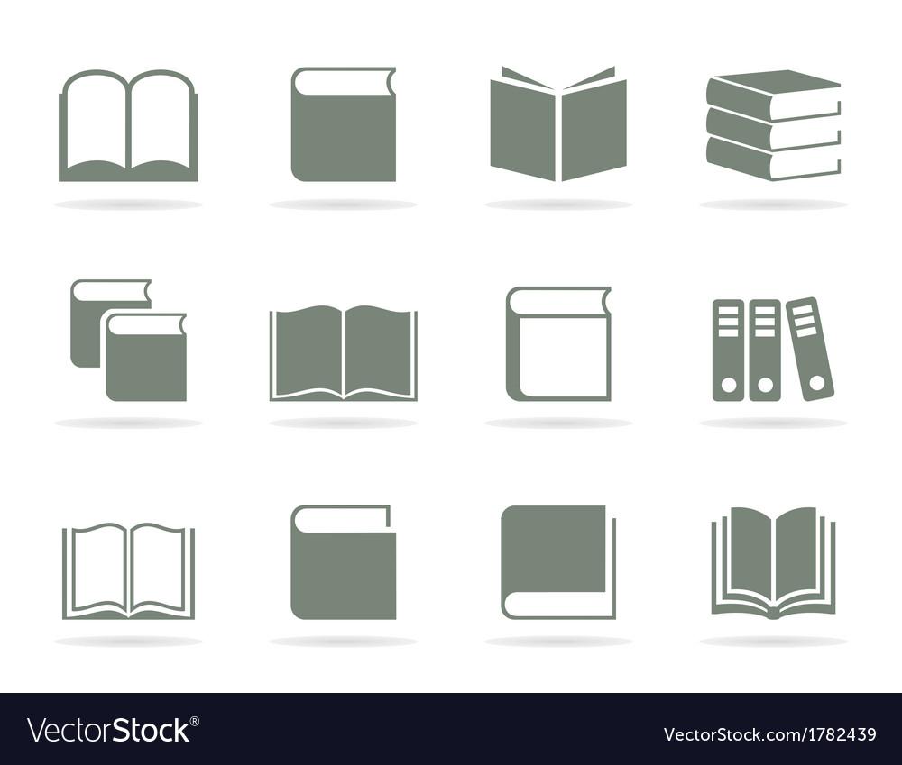 Book icon2 vector