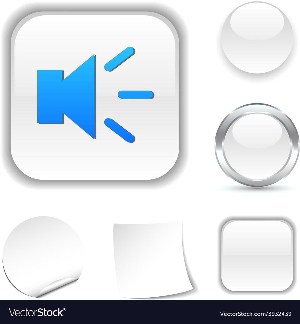 Sound icon vector