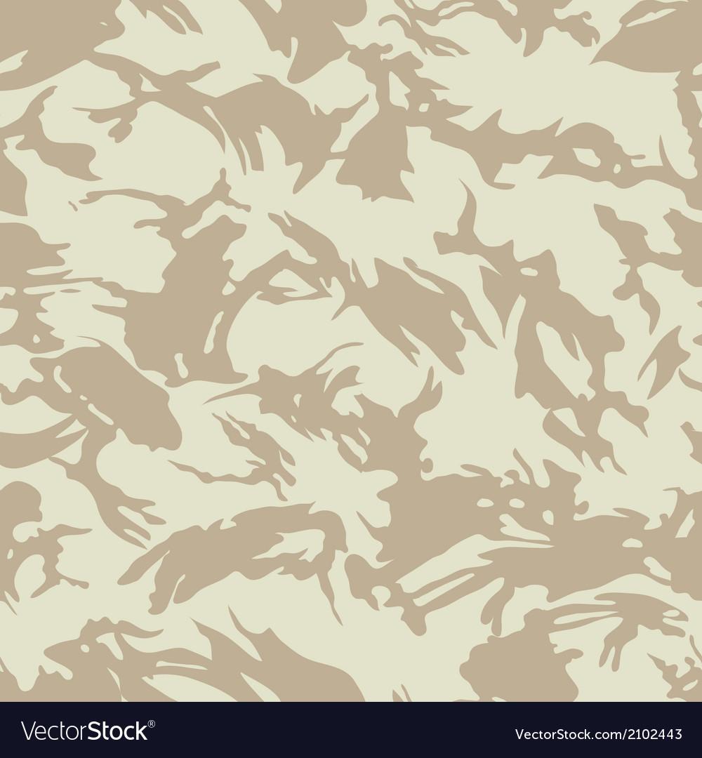 British desert camouflage seamless pattern vector
