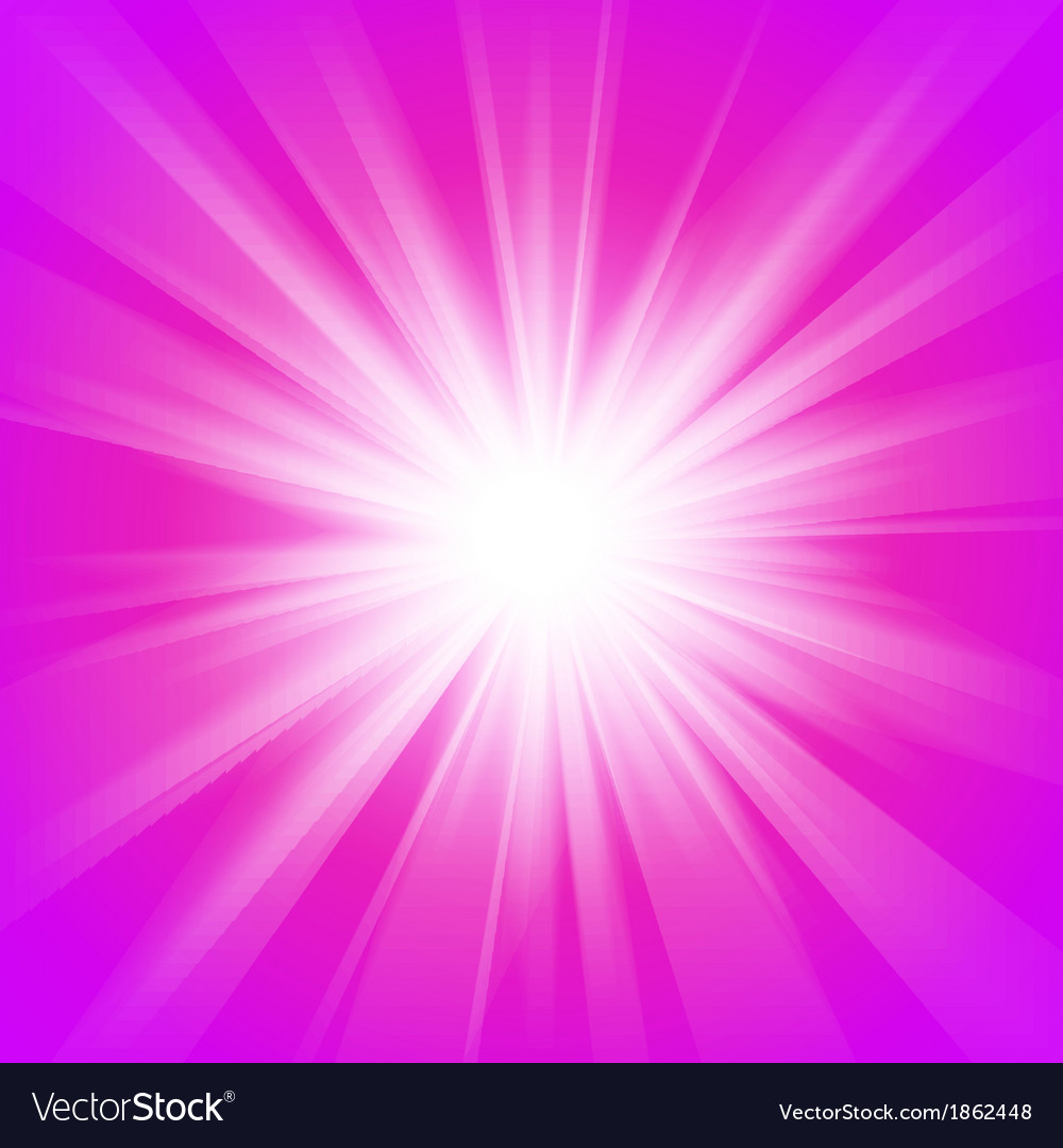 Pink and purple abstract magic light background vector