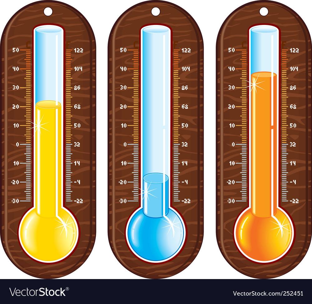 Temperature object vector