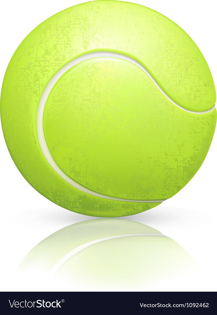 Tennis-ball vector
