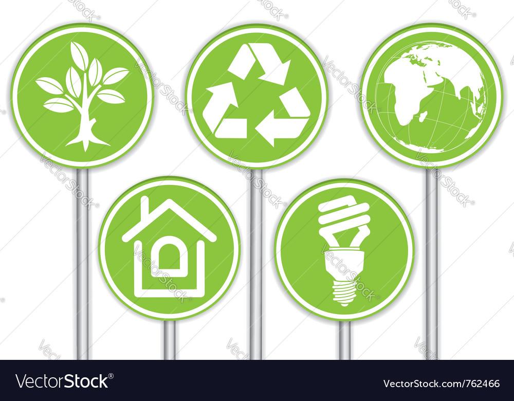 Environment icon vector