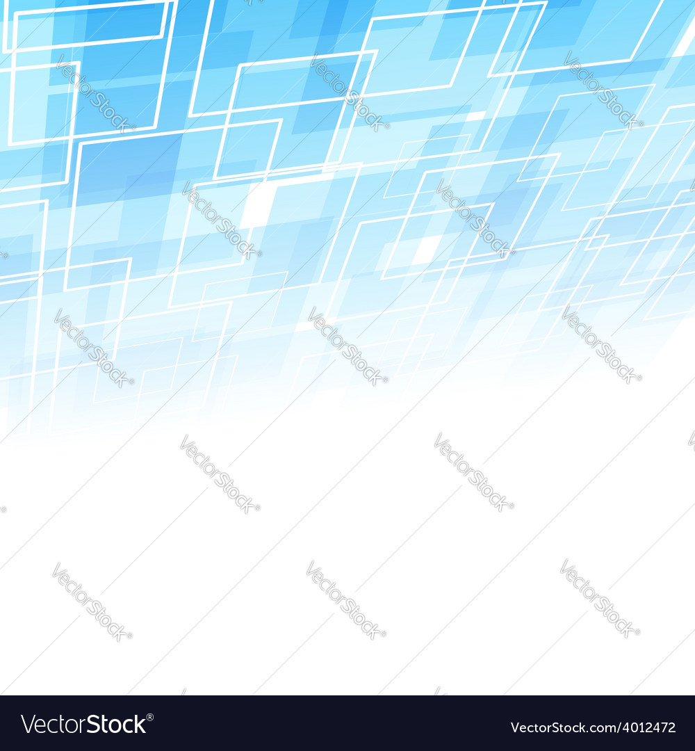 Abstract square geometrical background template vector
