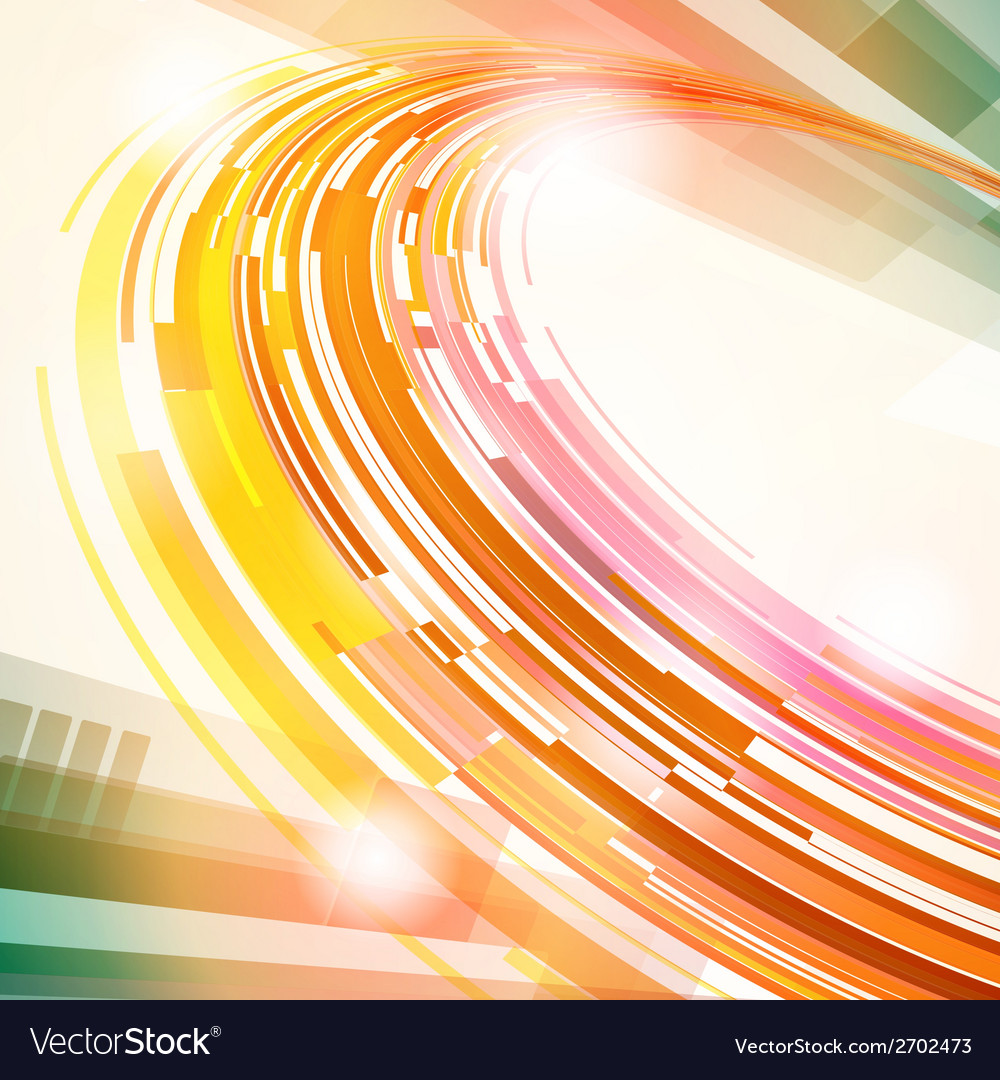 Abstract technology futuristic lines background vector