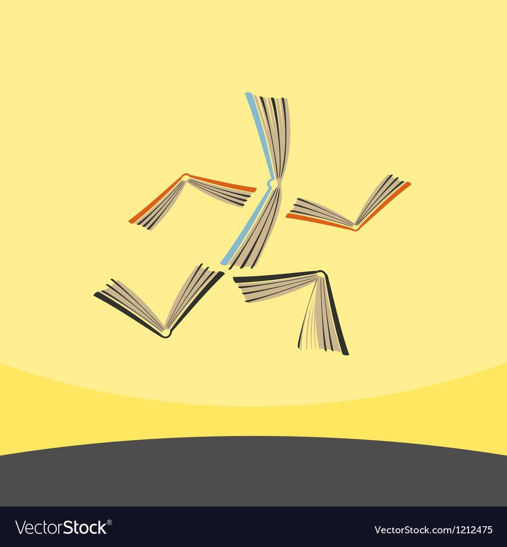 Book run vector