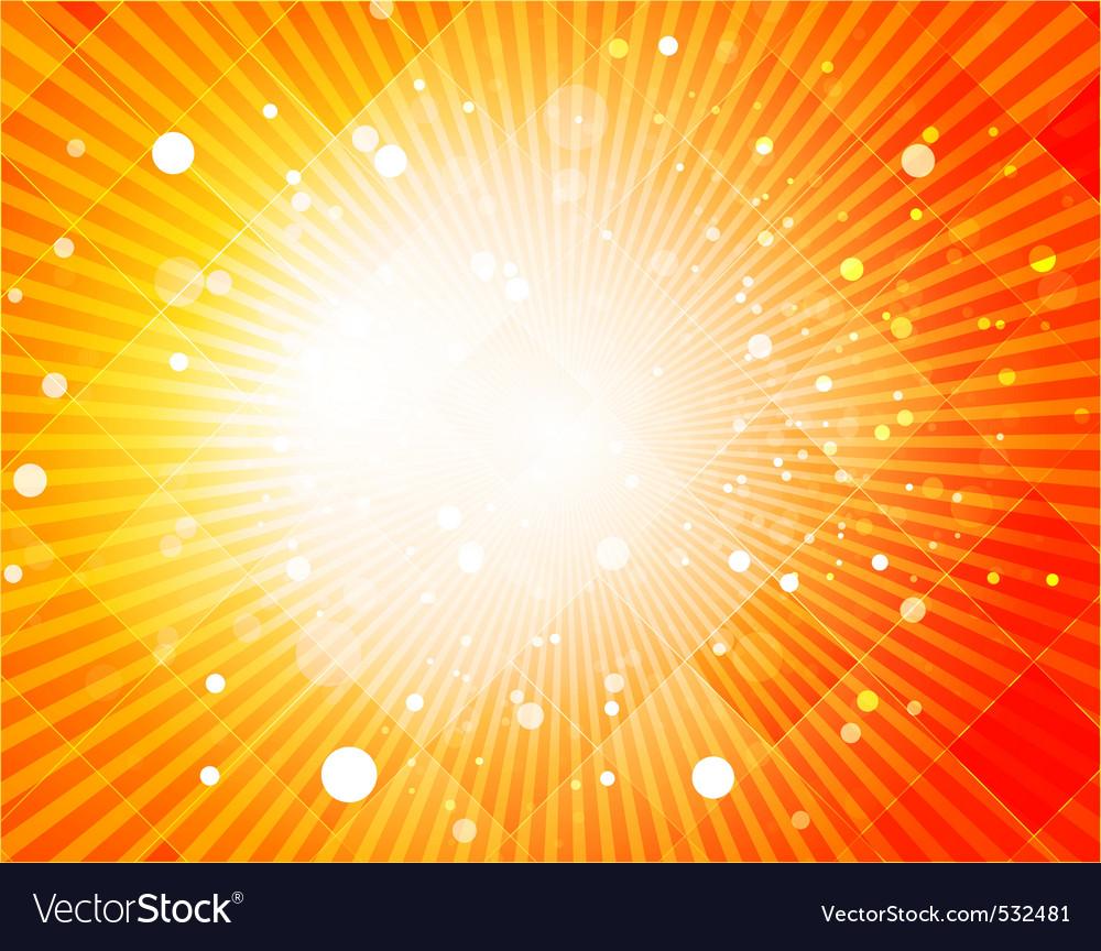 Digital rays vector