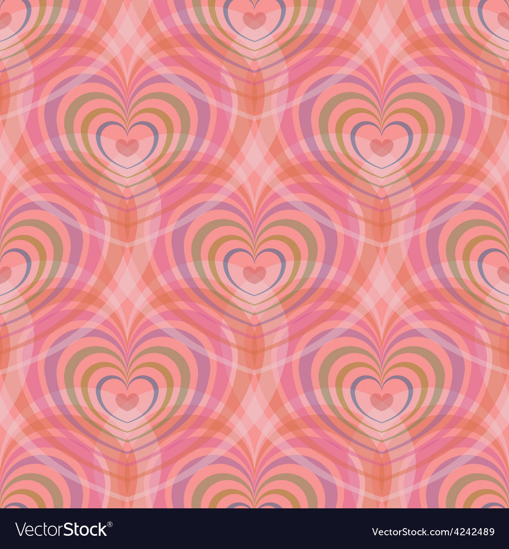 Seamless with vintage floral pattern vector