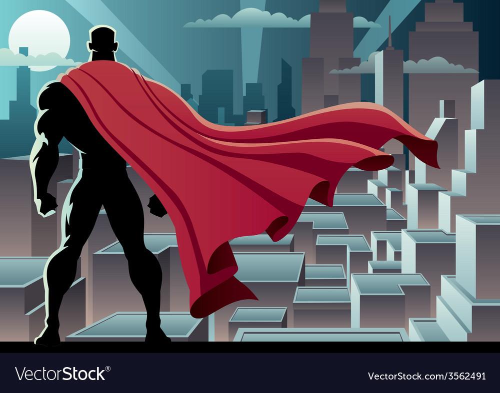 Superhero watch 3 vector