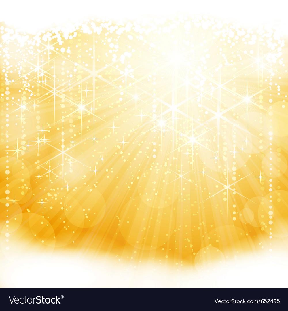 Festive sparkling bachground vector