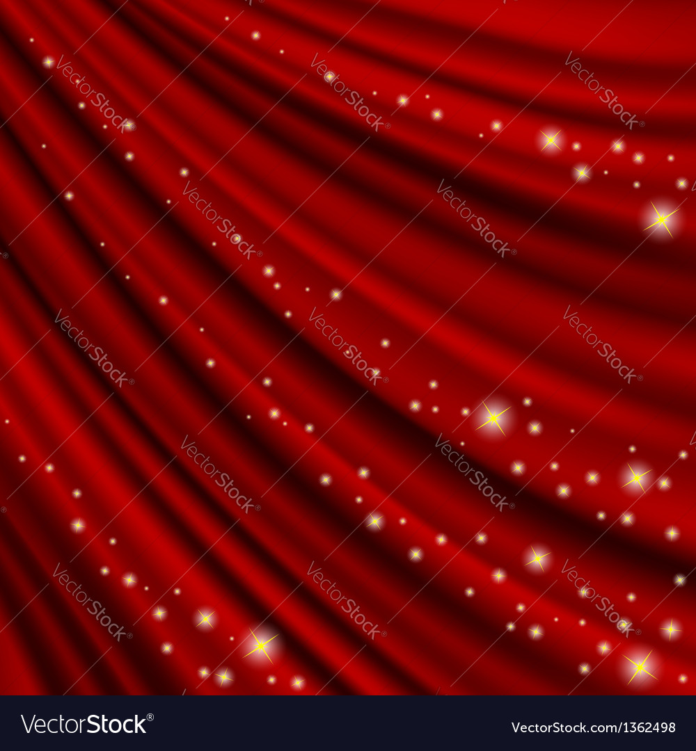 Theater curtain mesh vector