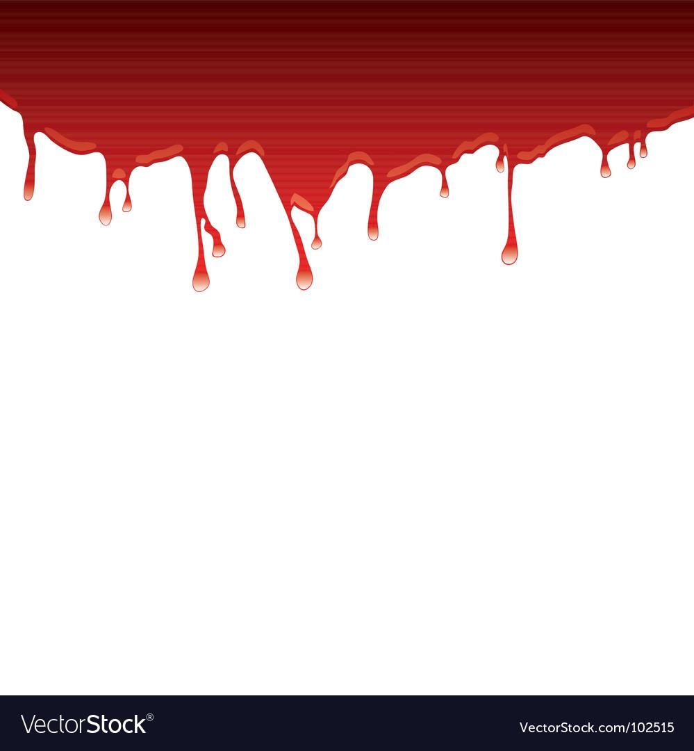 Blood drips vector