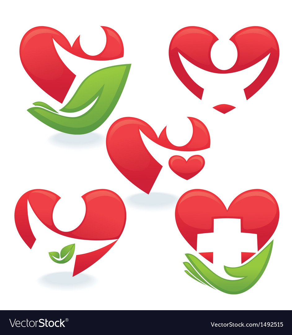 Love and health vector