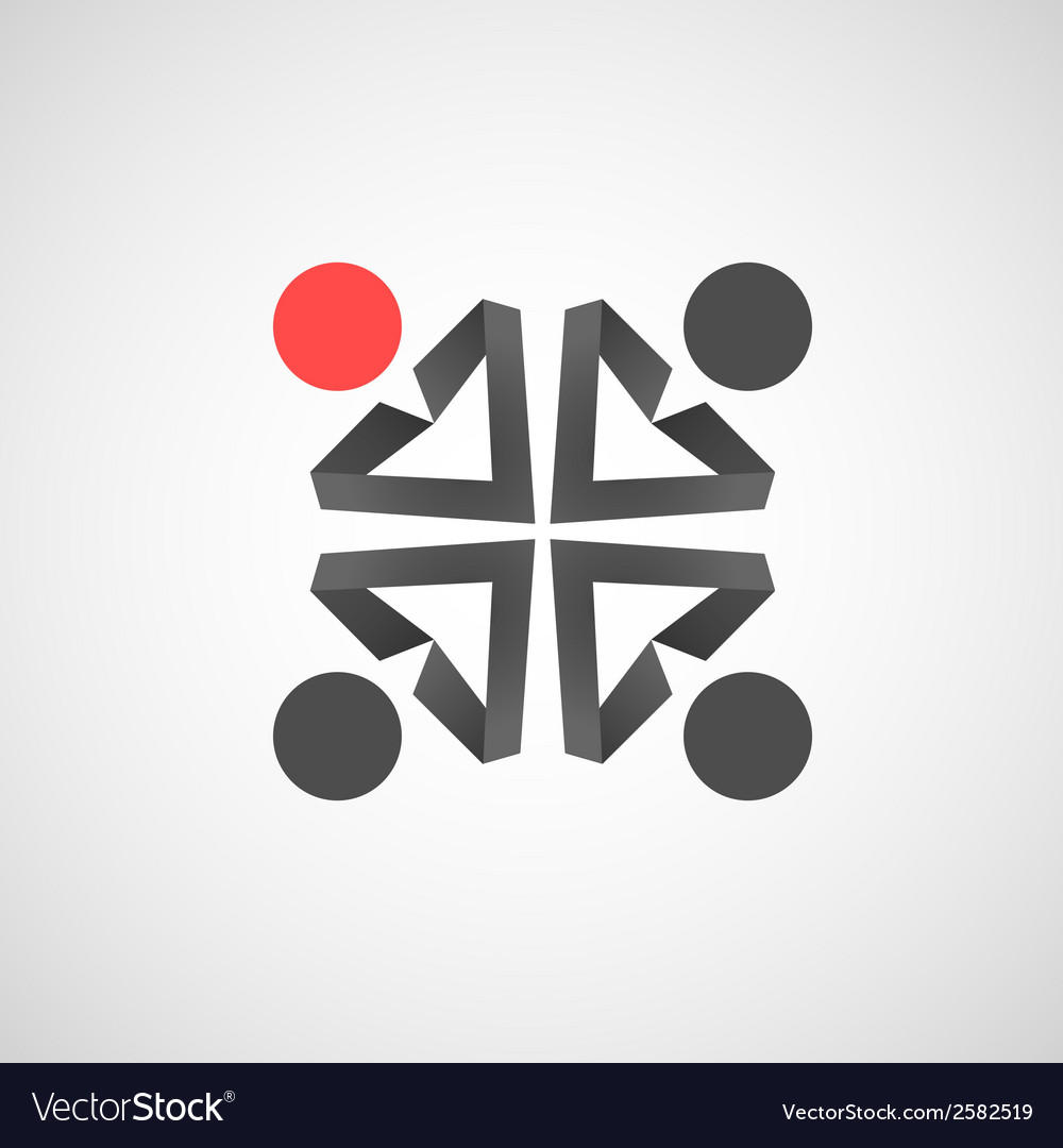 Icons of man creative simple design vector
