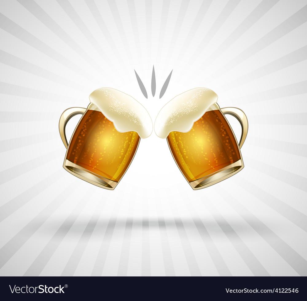 Cheers icon vector