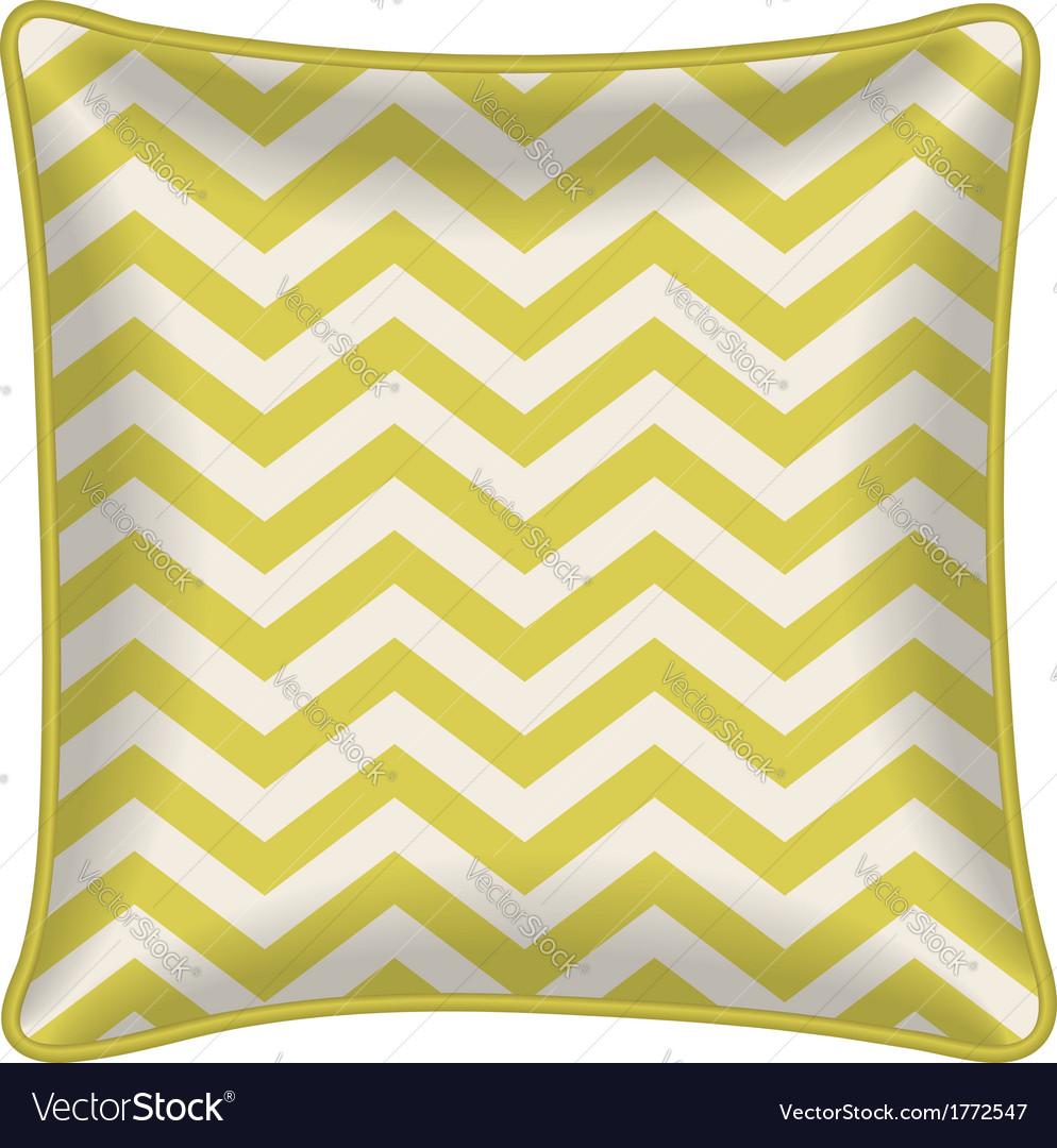 Decorative pillow vector