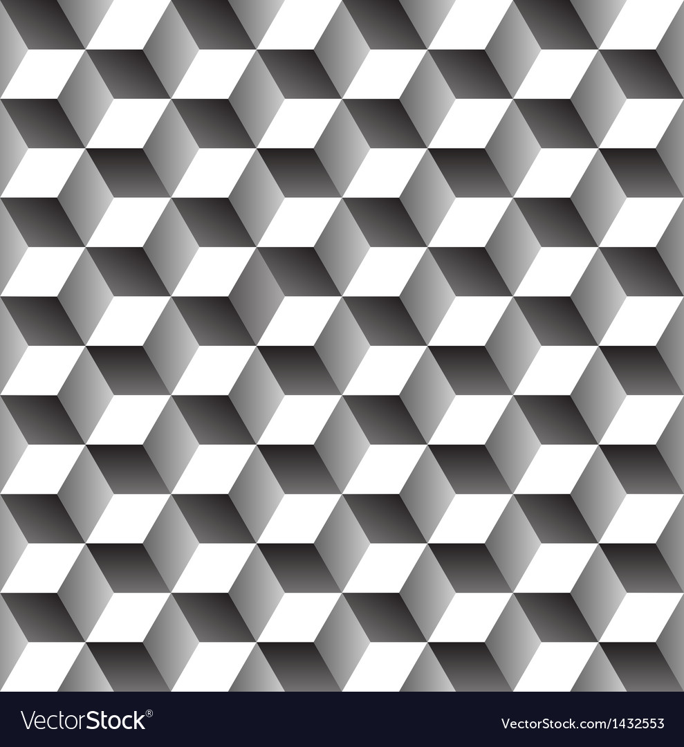 Seamless geometric pattern vector