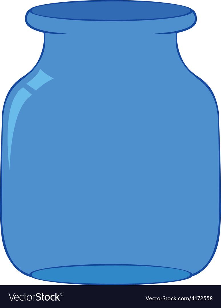 Empty bottle vector