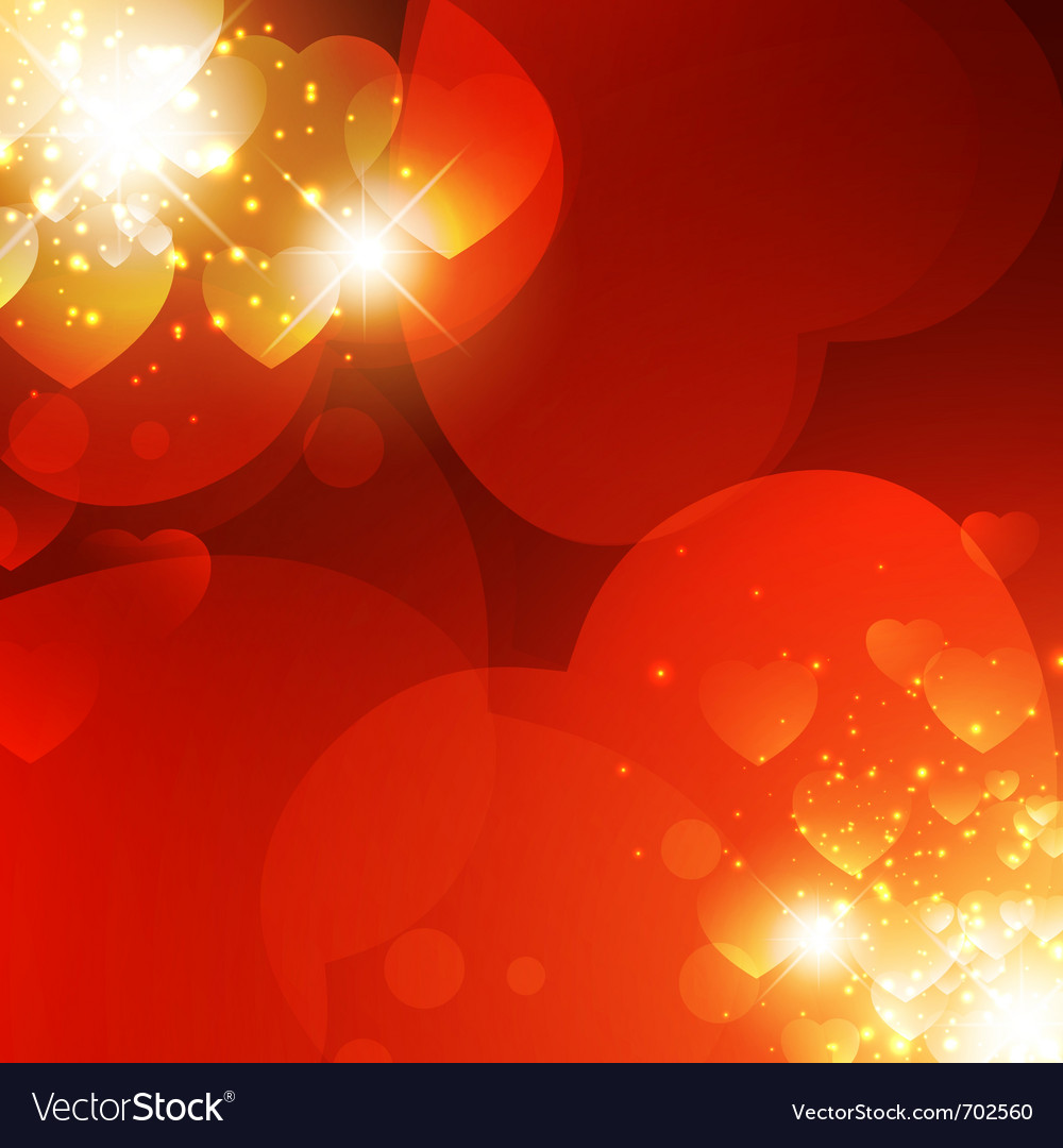 Abstract valentine background vector